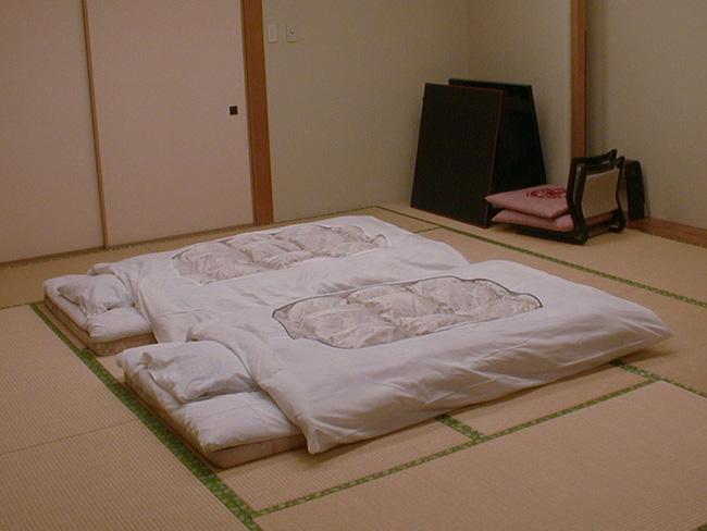 Rất nhiều cặp vợ chồng Nhật Bản không ngủ chung giường (Ảnh: Internet)