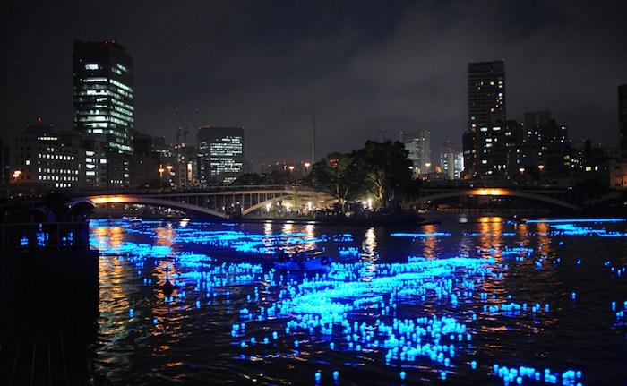 Sao trên sông trong lễ hội Tanabata ở Osaka Ảnh: jpninfo.com