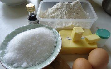 Bột làm bánh ở nhật