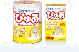 Loại dành cho bé sơ sinh: SữaPure(雪印メグミルクぴゅあ)