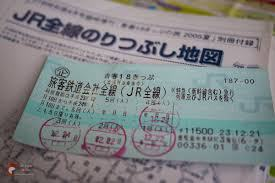 Vé Seishun 18 để đi toàn tuyến JR